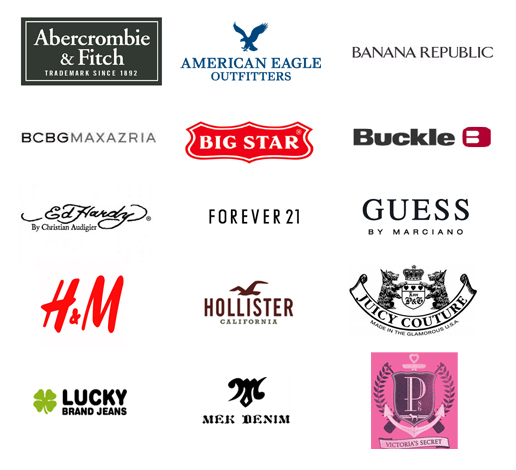 clothing brand logos and names wwwimgkidcom the